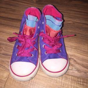 CONVERSE Girl's Toddler Converse Size 9